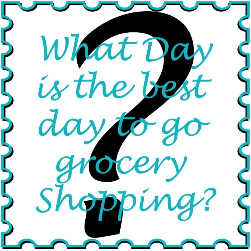 What Day is the Best Day to Go Grocery Shopping?