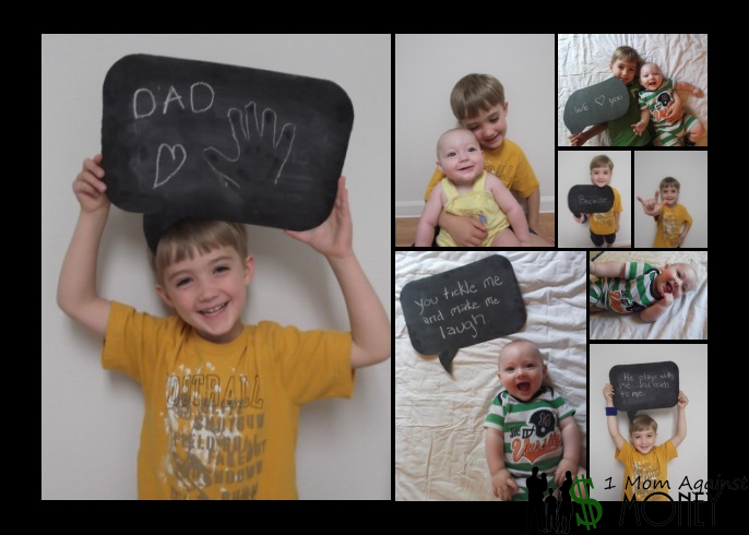 DIY: Chalkboard Photo Prop