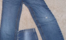 Patching Kids Jeans