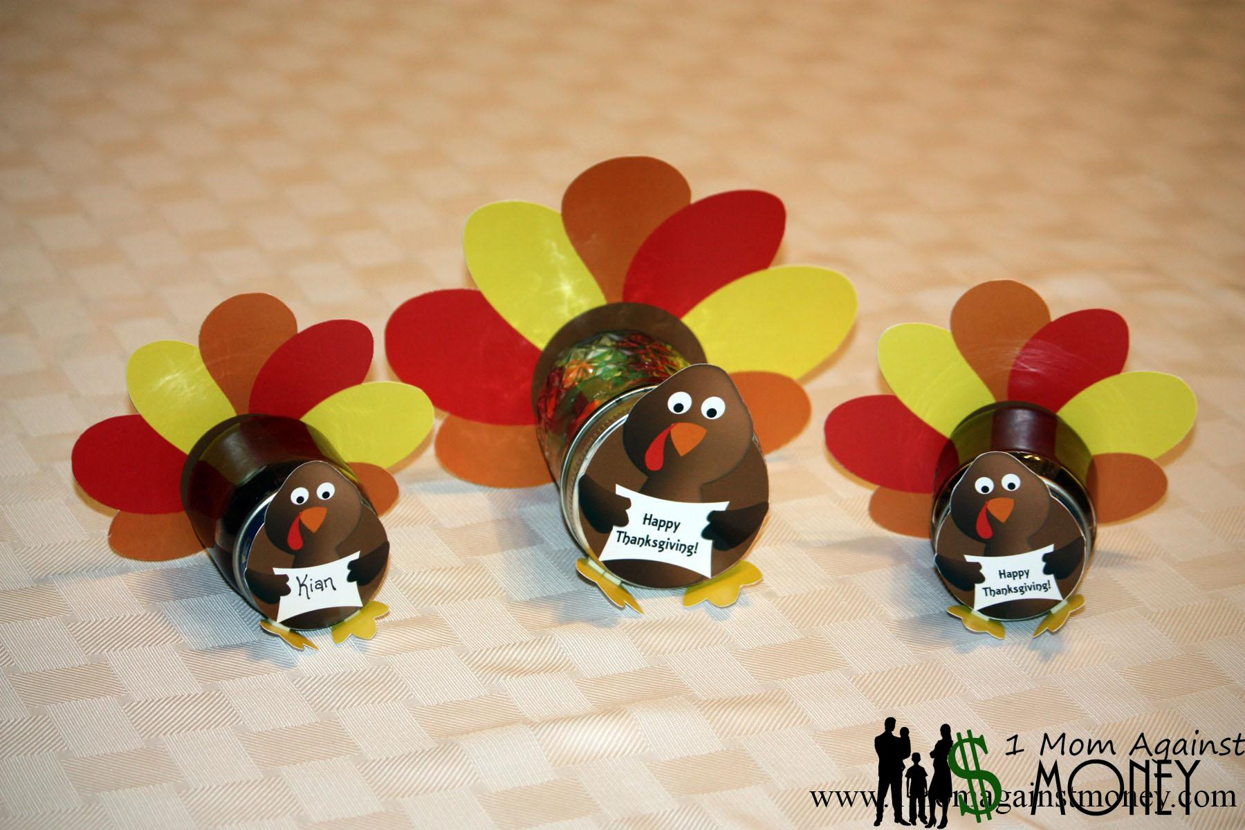 Read more about the article Thanksgiving Jar Decoration Printable