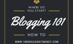 Blogging 101-Where Do You Start?