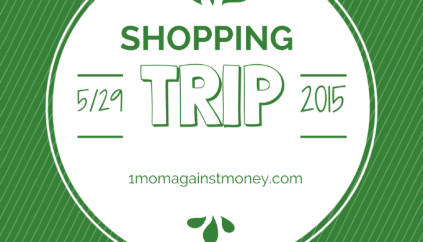 Shopping Trip for 5-29-15
