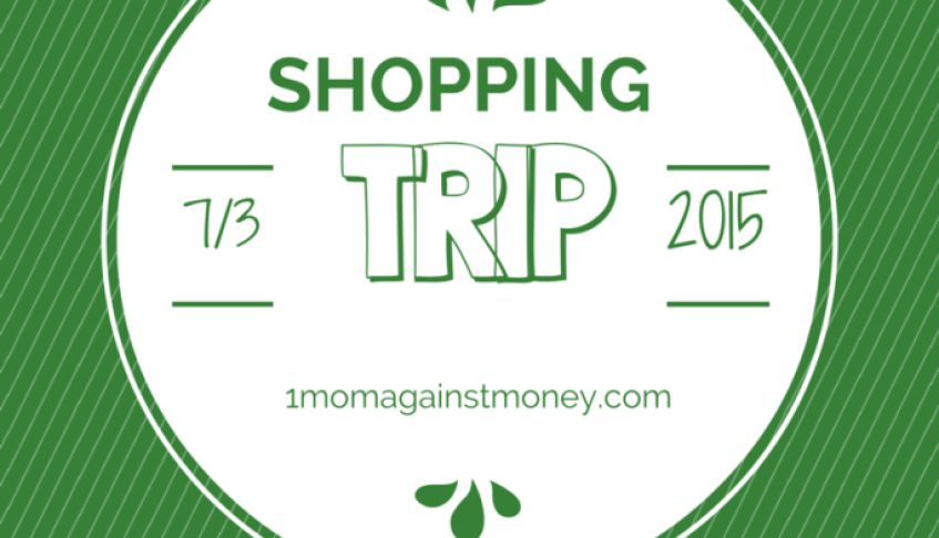 Shopping Trip for 7-3-15