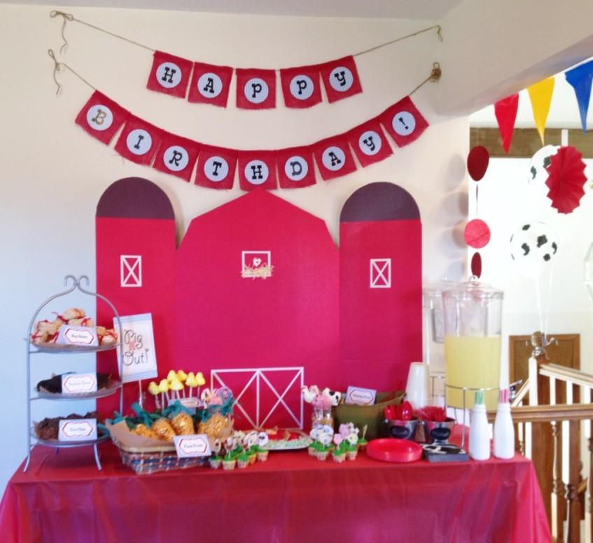 Sweetie Pie Farm Party