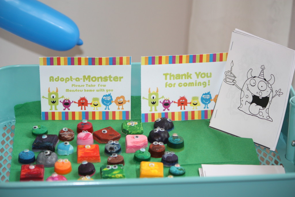 Monster-party-thank-you-gift-crayons-and-coloring-book