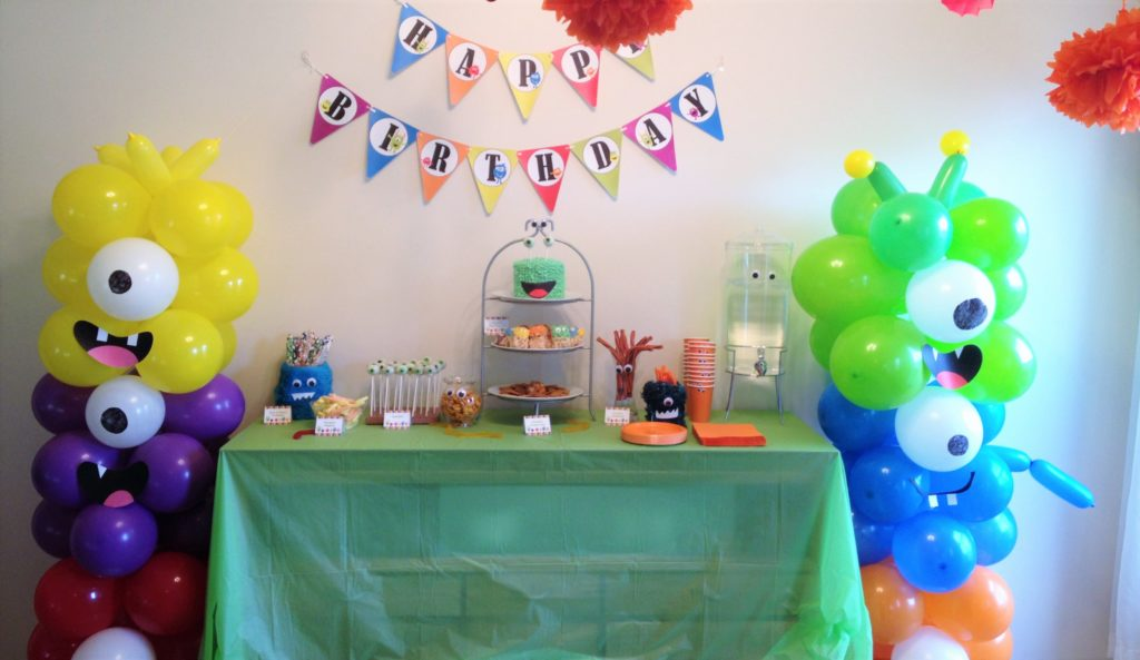 Monster Party Birthday Bash