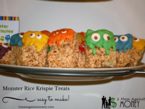 Read more about the article Monster Rice Krispie Treats