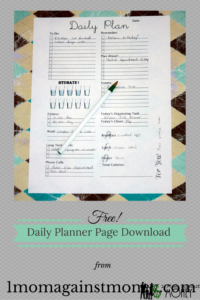 Read more about the article Free Daily Planner Pages!