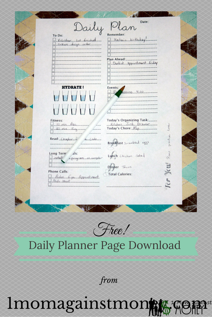 You are currently viewing Free Daily Planner Pages!
