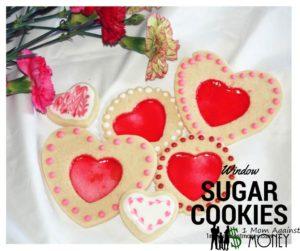Heart Window Sugar Cookies