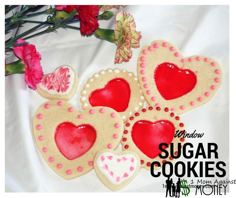 Heart Window Sugar Cookies