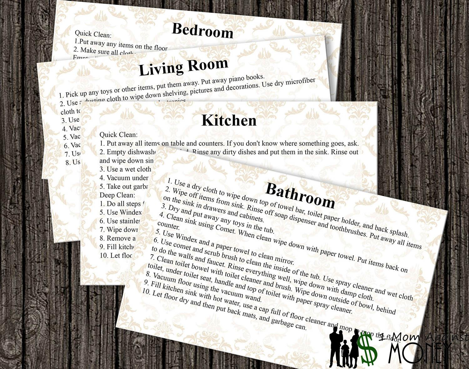 Read more about the article Chore Cards Freebie!