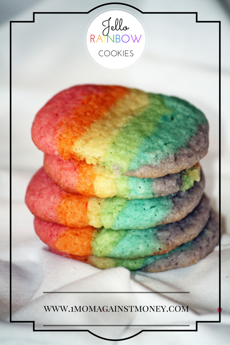 You are currently viewing Rainbow Jello Cookies