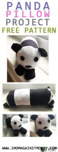 Read more about the article Panda Pillow with Pattern