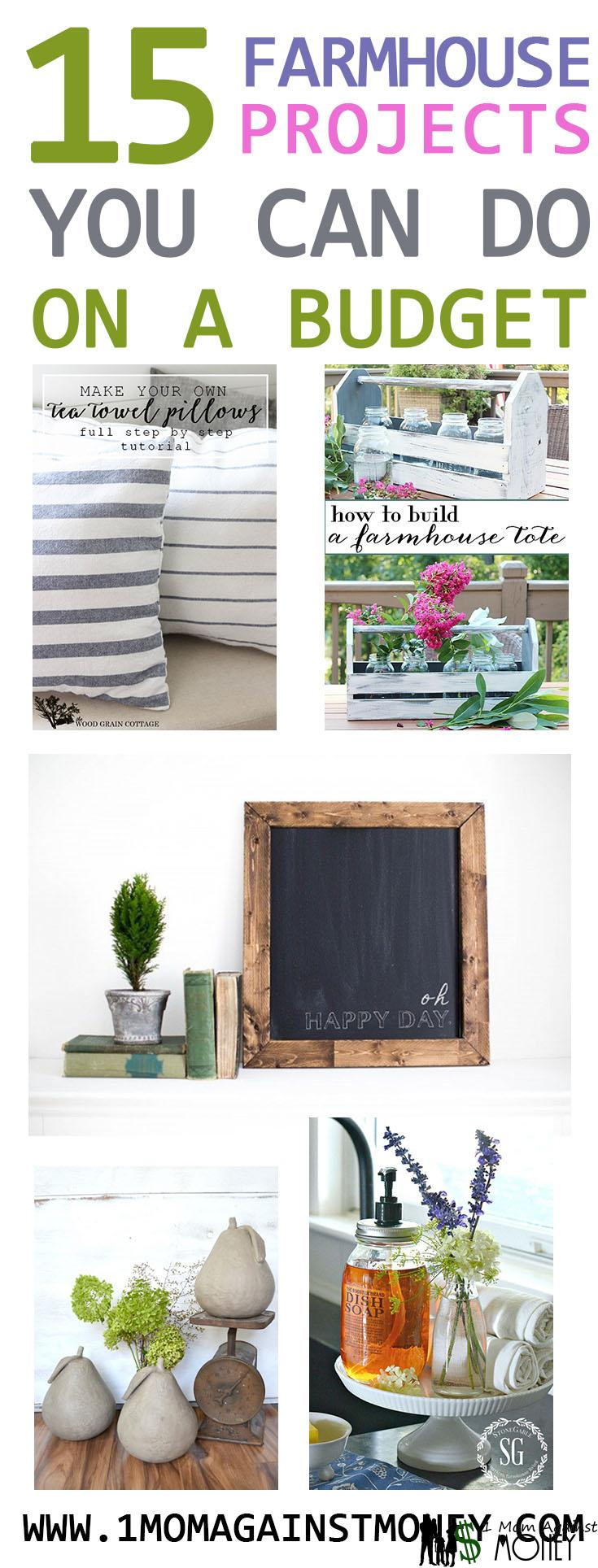 Read more about the article Inspiring Budget Friendly Farmhouse Style Decor