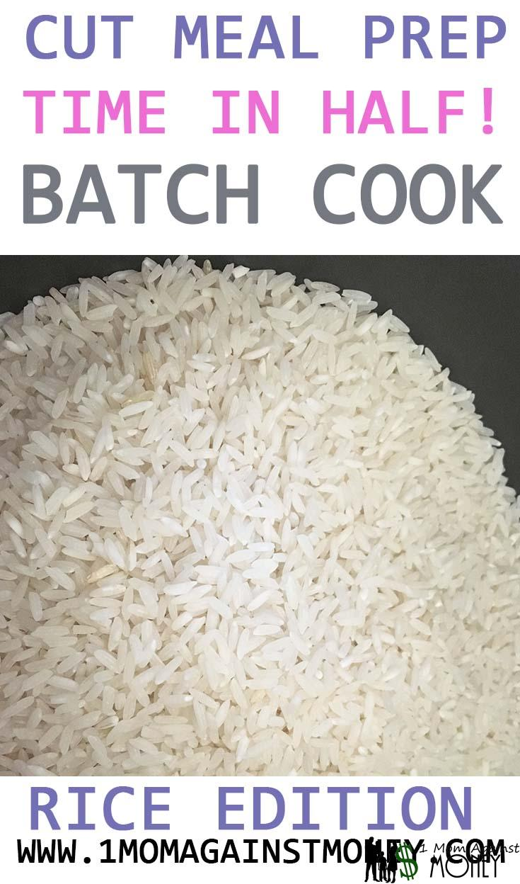 You are currently viewing Cut Dinner Prep Time In Half: Batch Cooking Rice Edition