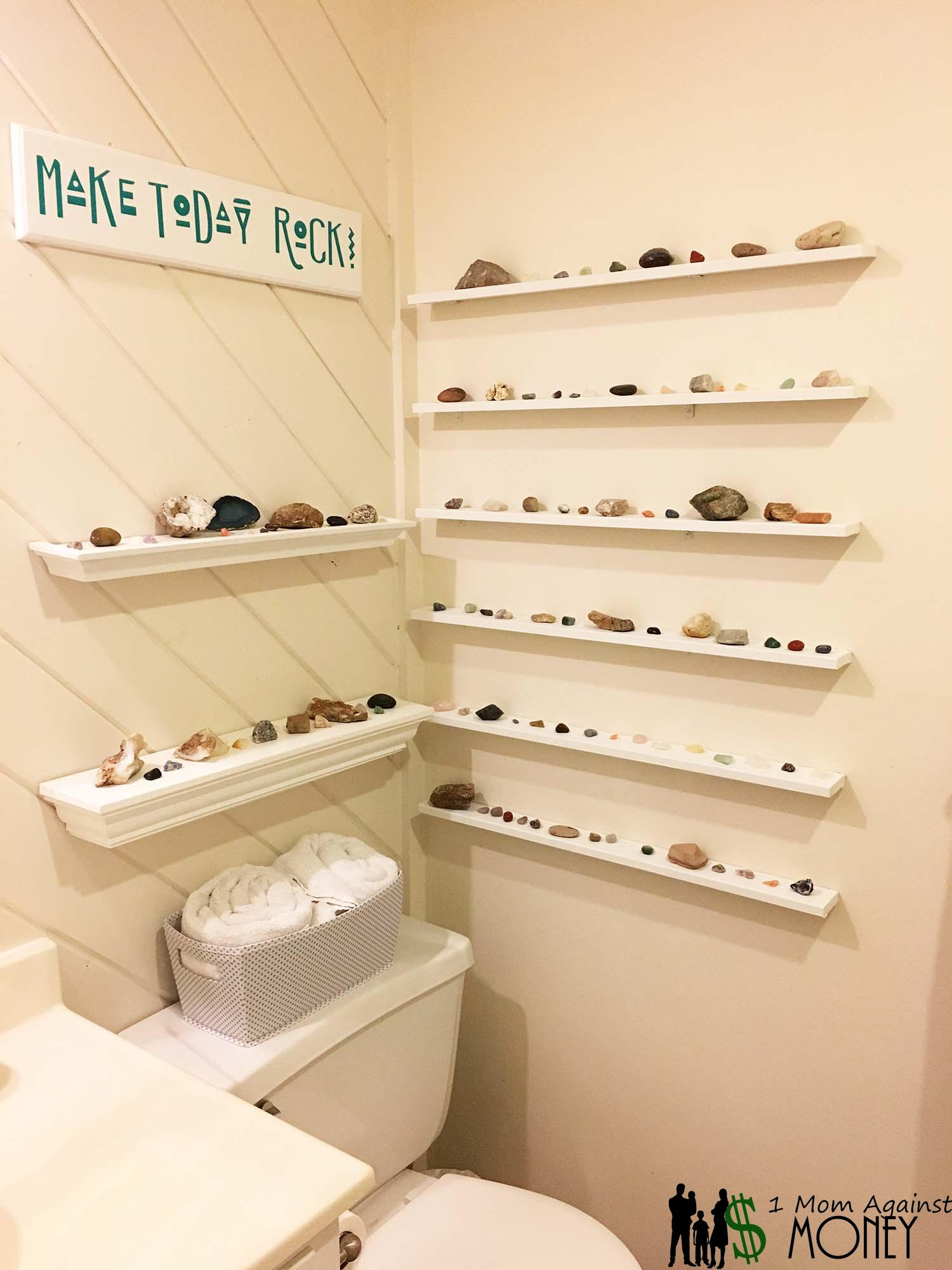 Read more about the article Make Today Rock! Bathroom Update with Rock Collection