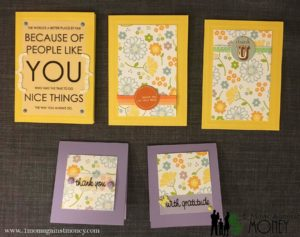 Quick Thank You Cards