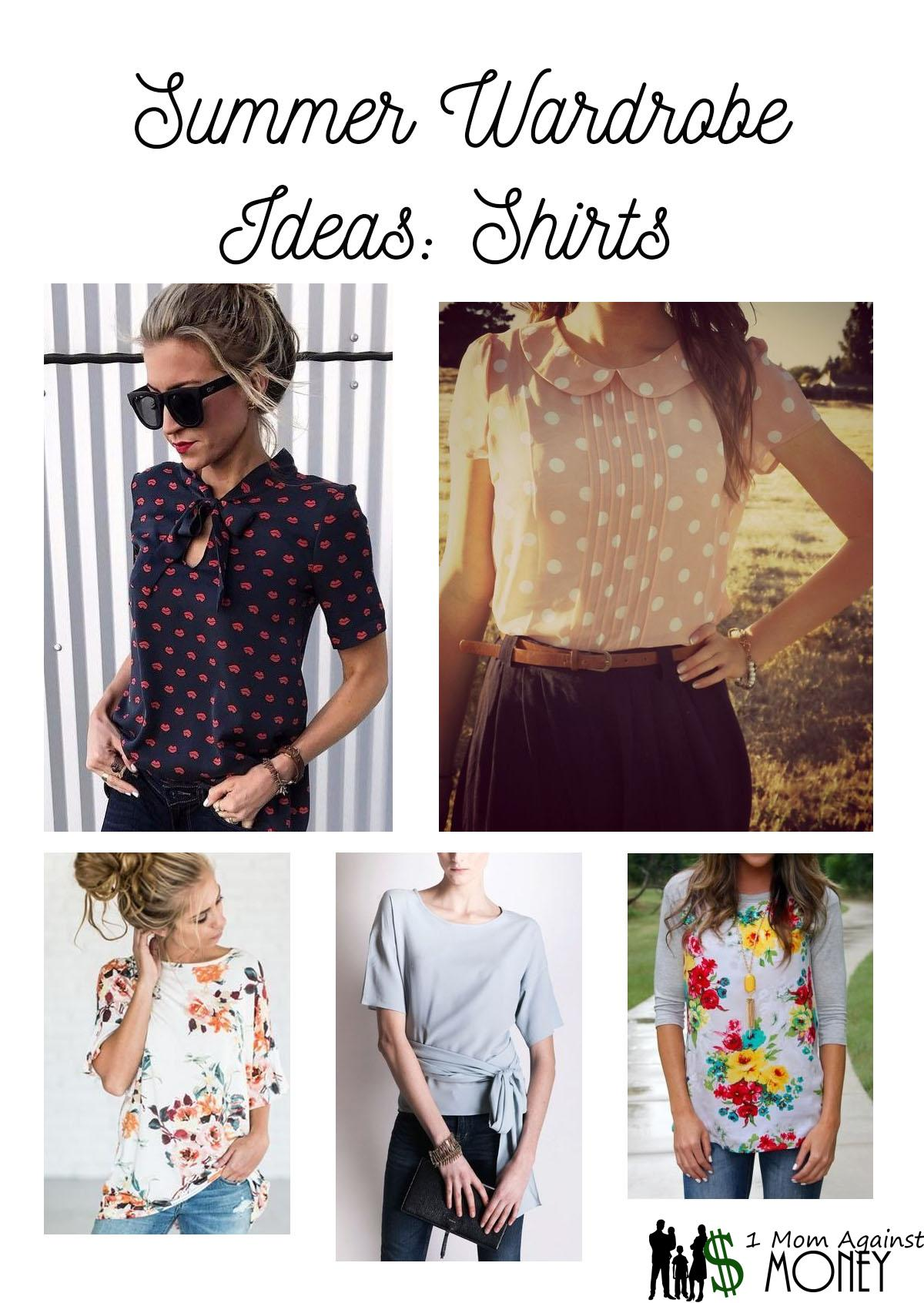 Read more about the article Summer Wardrobe: Swimsuit and Shirts
