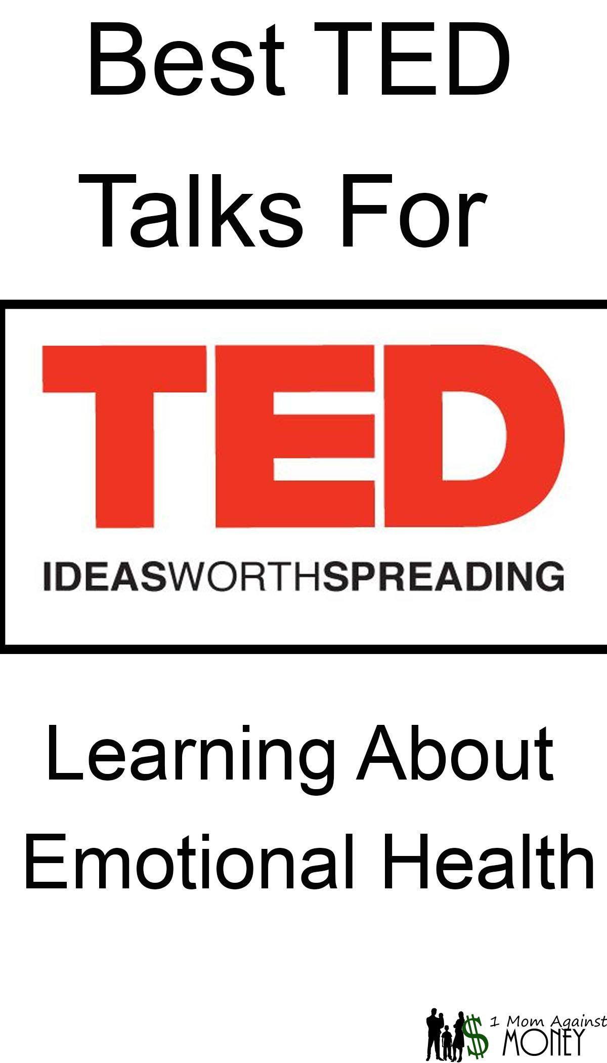 Read more about the article Best TED Talks for Learning about Emotional Health