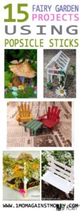 Fairy Garden Popsicle Stick How To Round Up