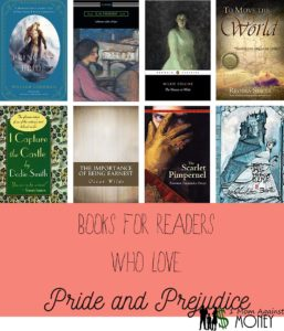 Read more about the article Books to Read if you Like Pride and Prejudice by Jane Austen