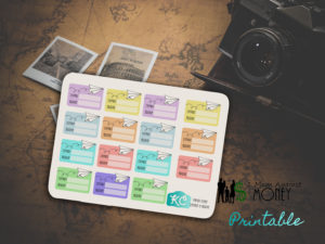 Read more about the article Travel Depart and Arrive Planner Stickers