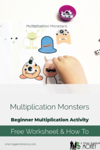 Read more about the article Multiplication Monsters: Beginner Multiplication Activity