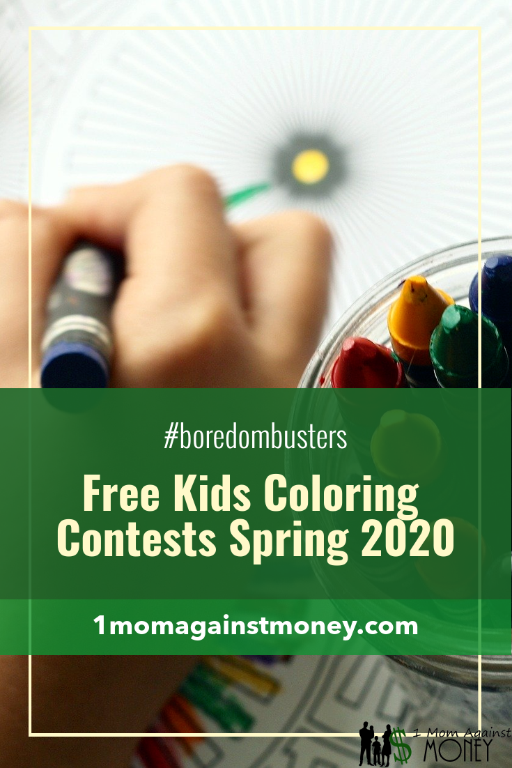 Boredom Buster: Coloring Contests