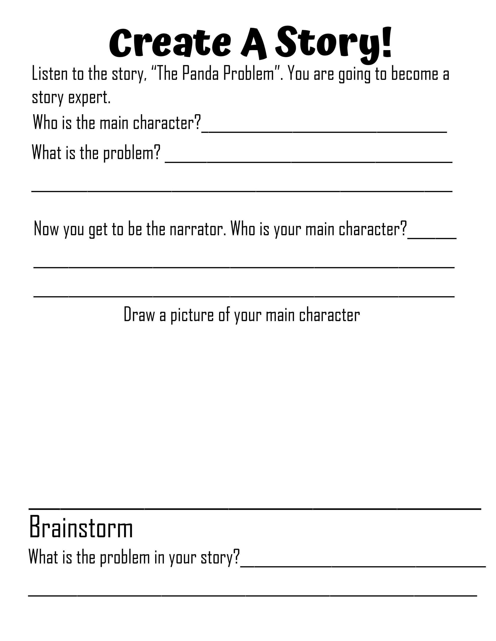 Read more about the article Create A Story: Learn the Parts of a Story