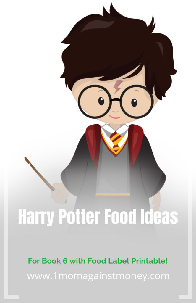 Harry Potter Food with Label Print from 1momagainstmoney.com