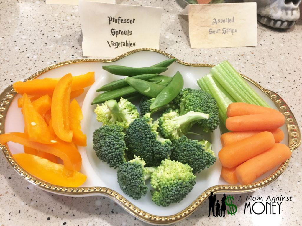 Harry Potter Dinner from 1momagainstmoney.com