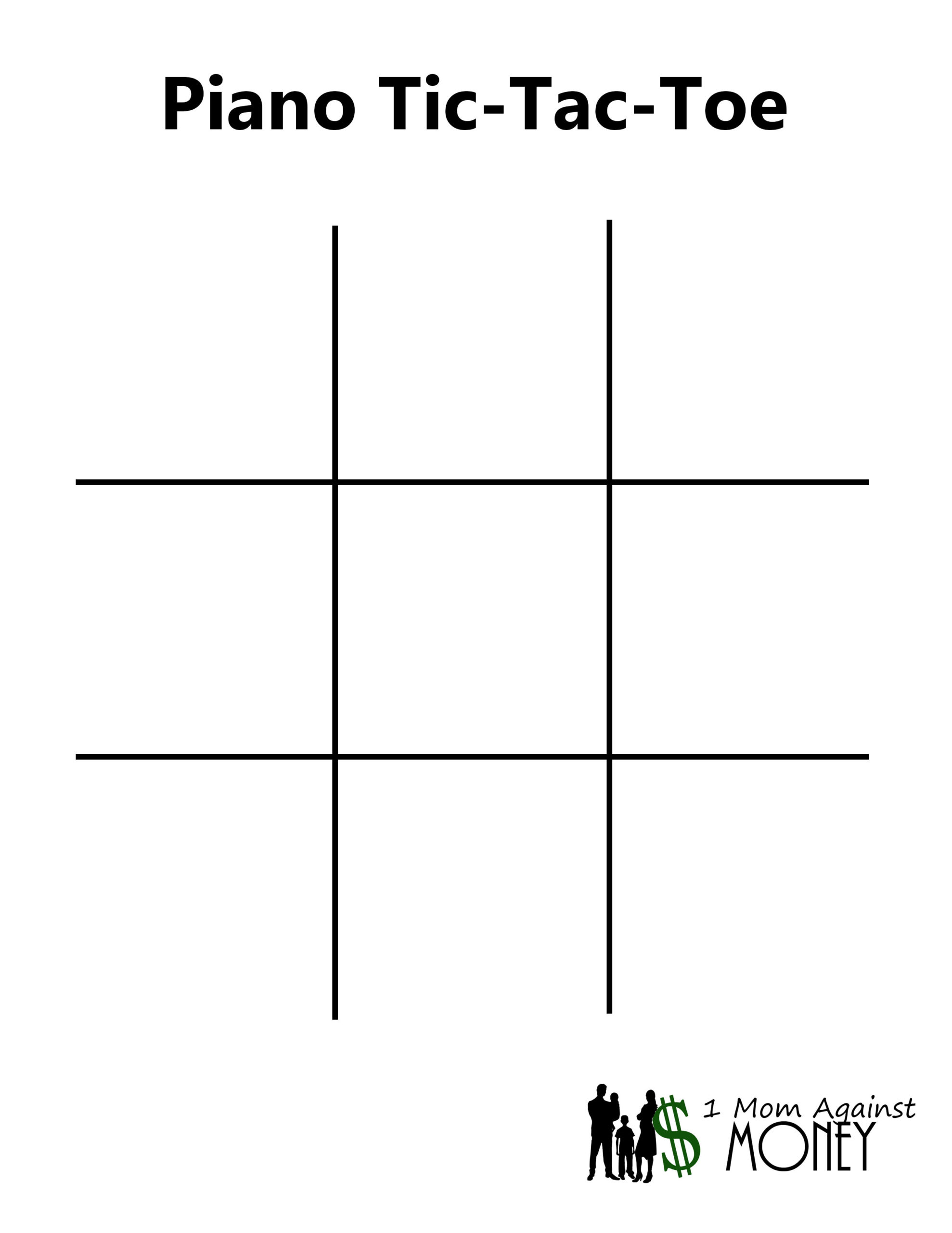Read more about the article Piano Tic Tac Toe