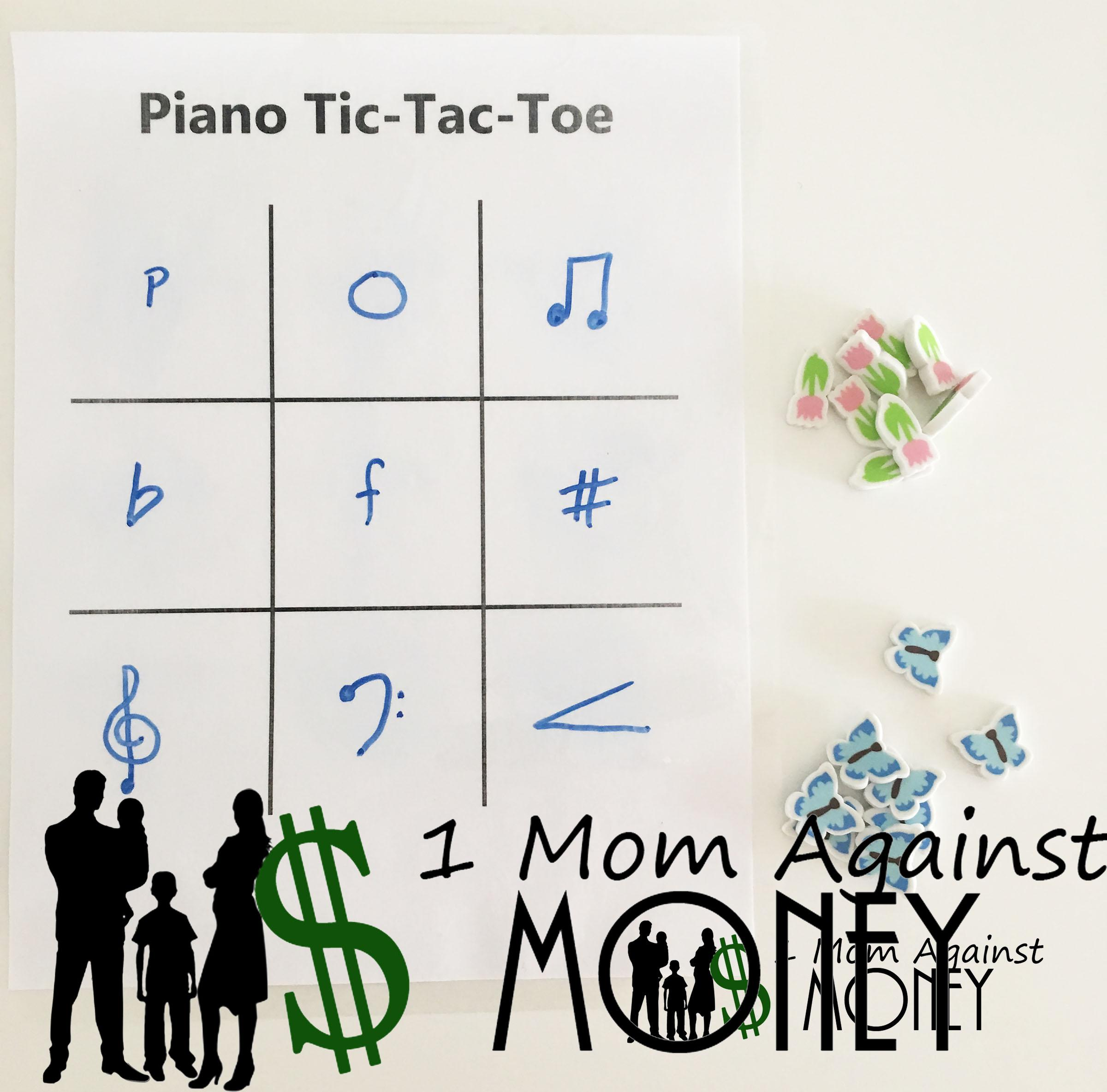 Read more about the article Piano Tic-Tac-Toe Game