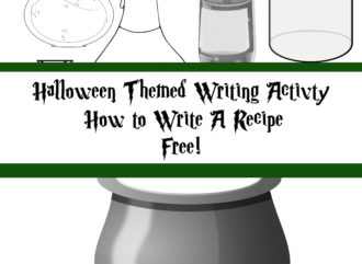 Halloween Writing Activity Free