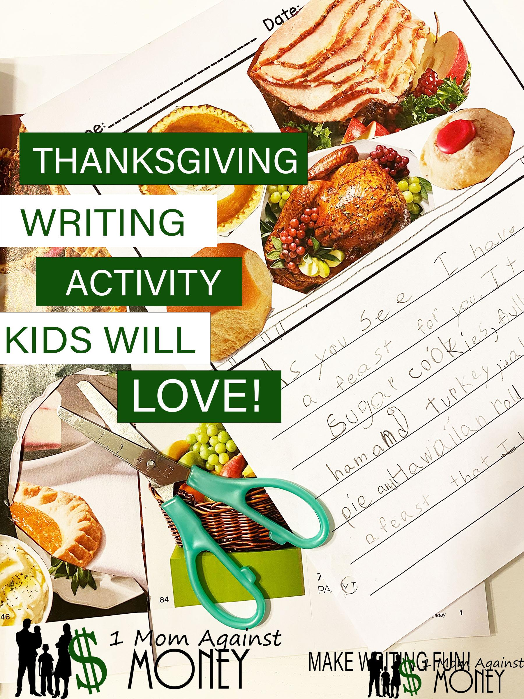Read more about the article Thanksgiving Writing Prompt Kids Will Beg To Do Again!
