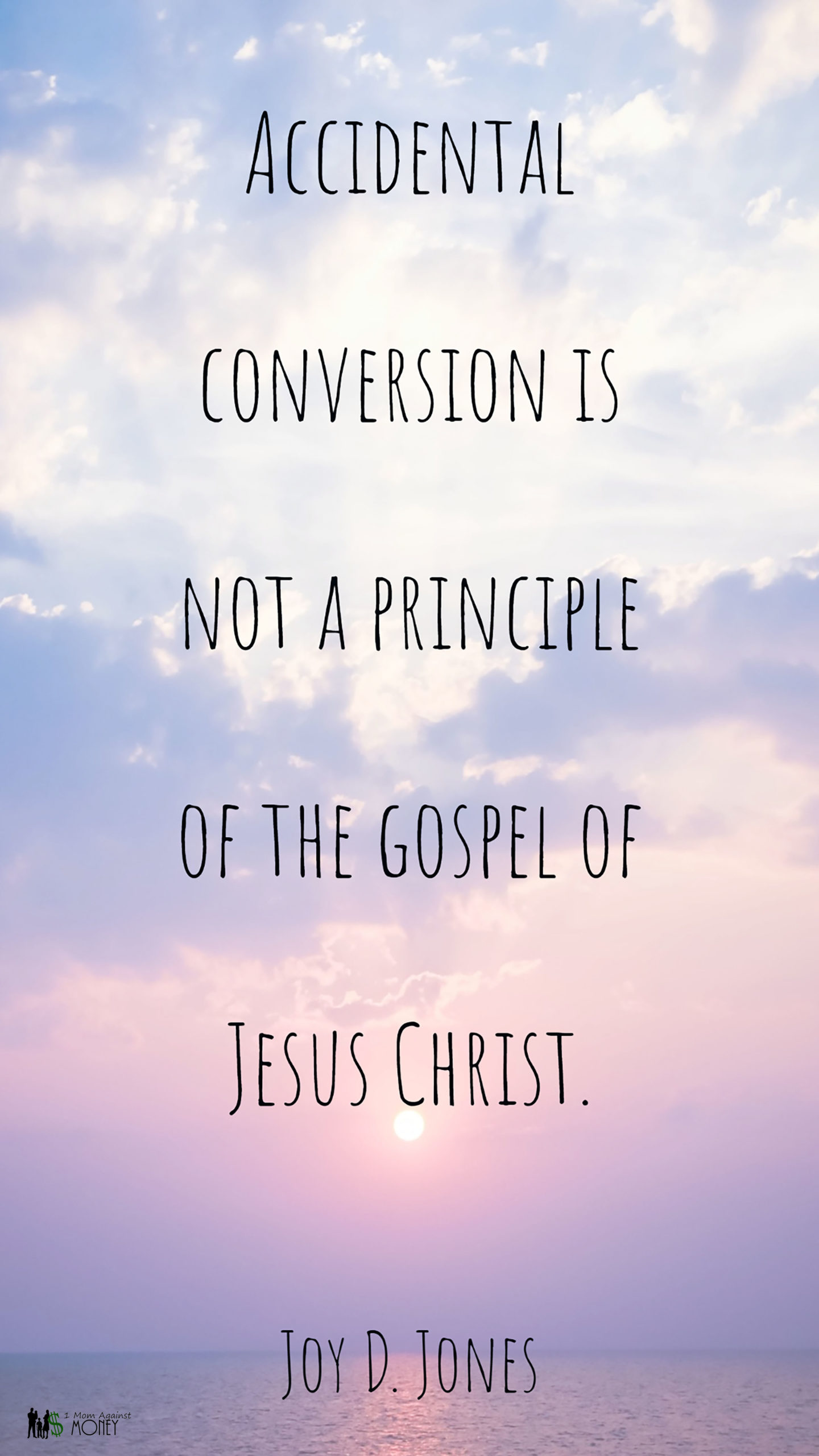 Read more about the article Accidental Conversion Quote