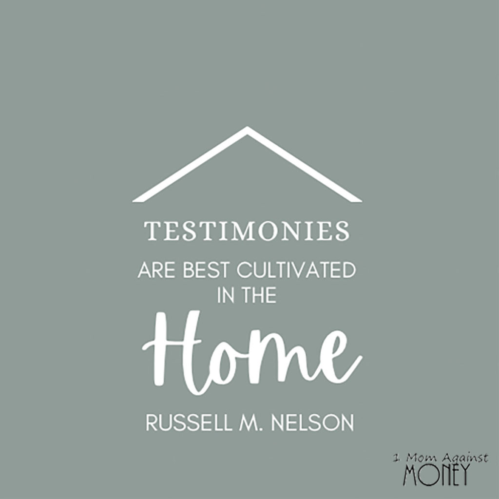 LDS General Conference Quote