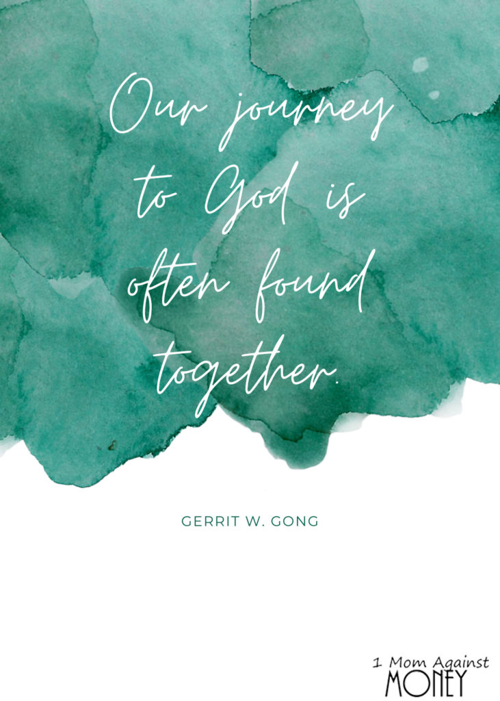 Journey Together Mormon Quote