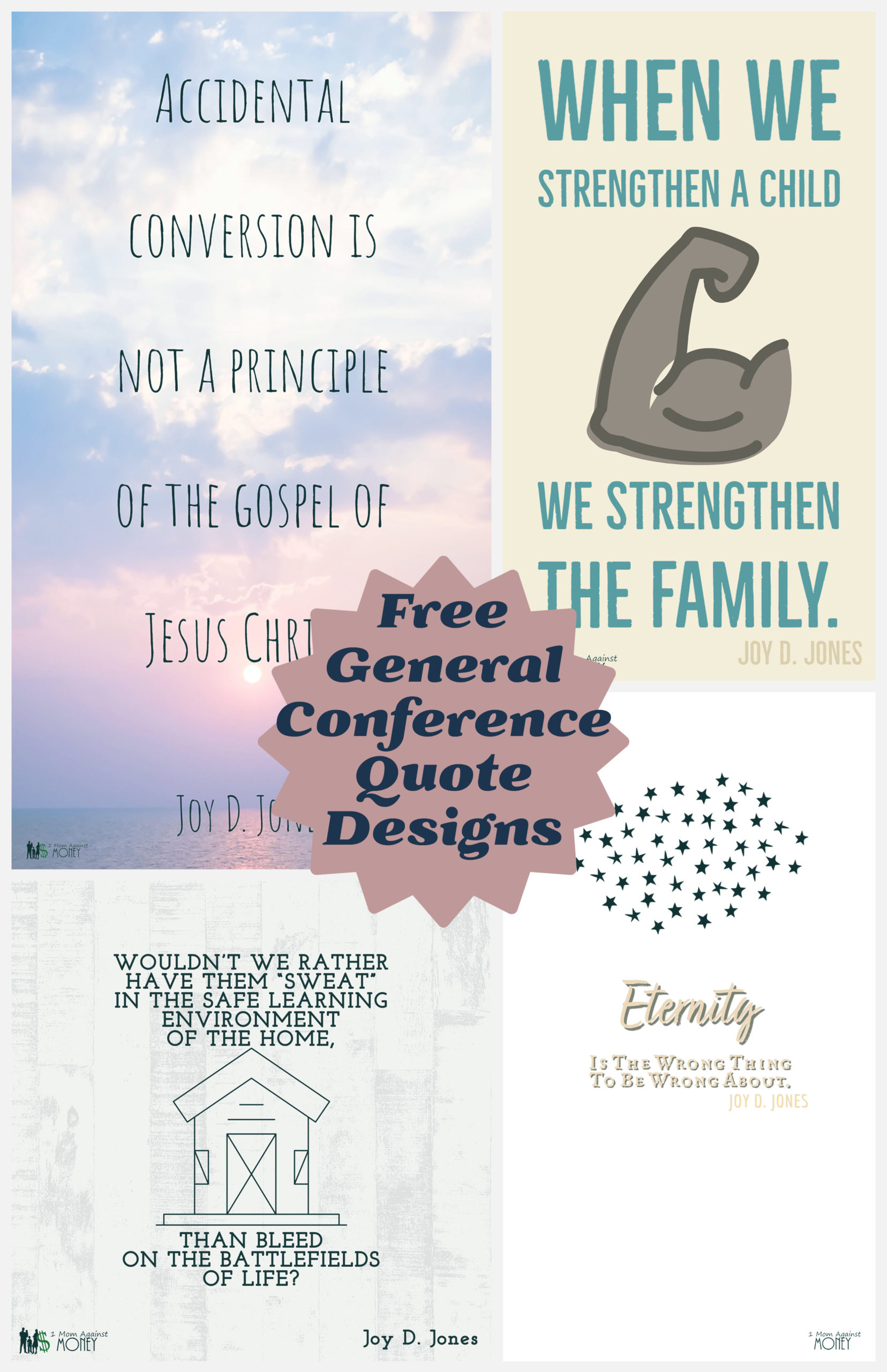 April 2021 General Conference Quotes from Joy D. Jones