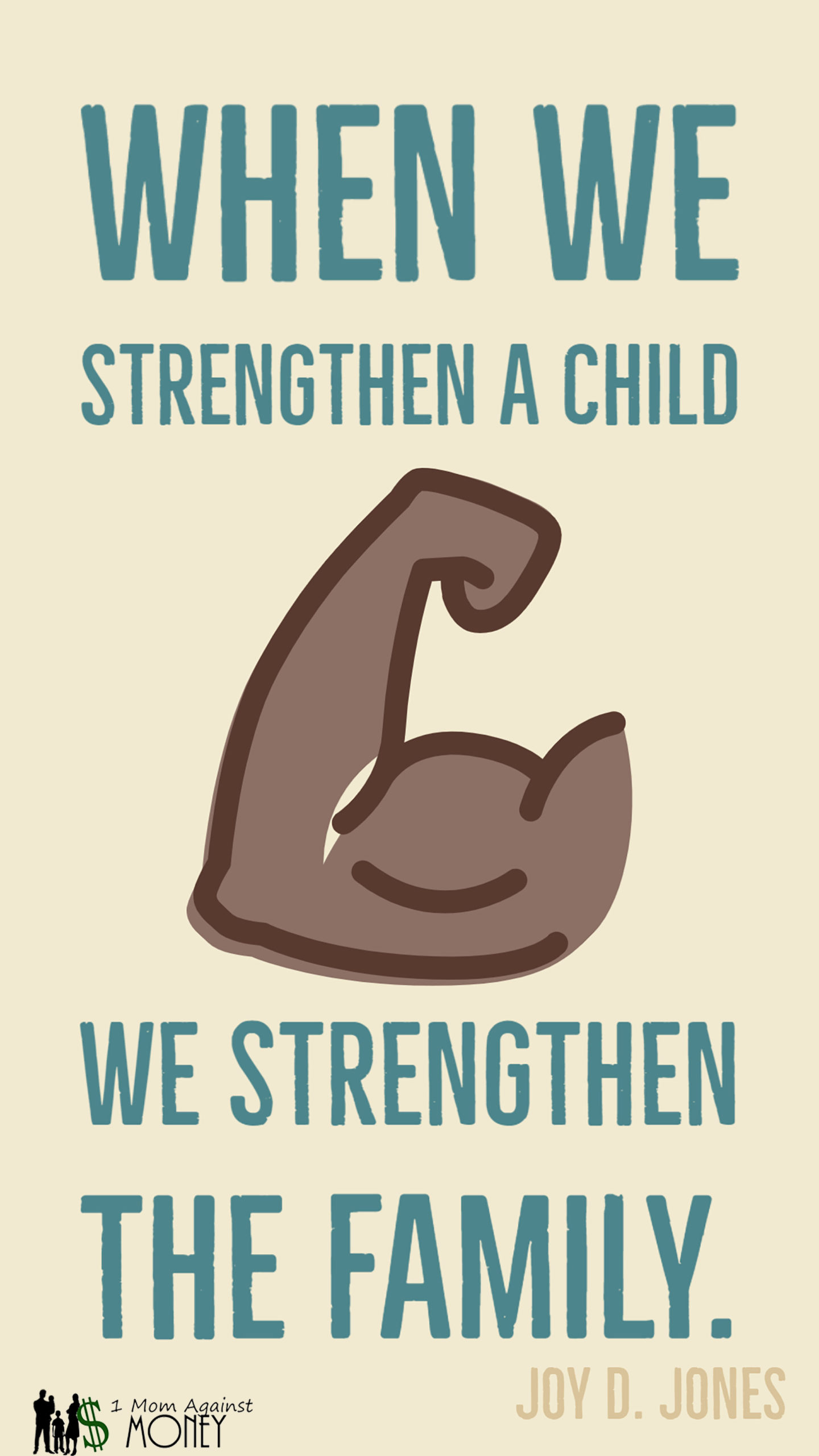 Read more about the article Strengthen The Child Quote