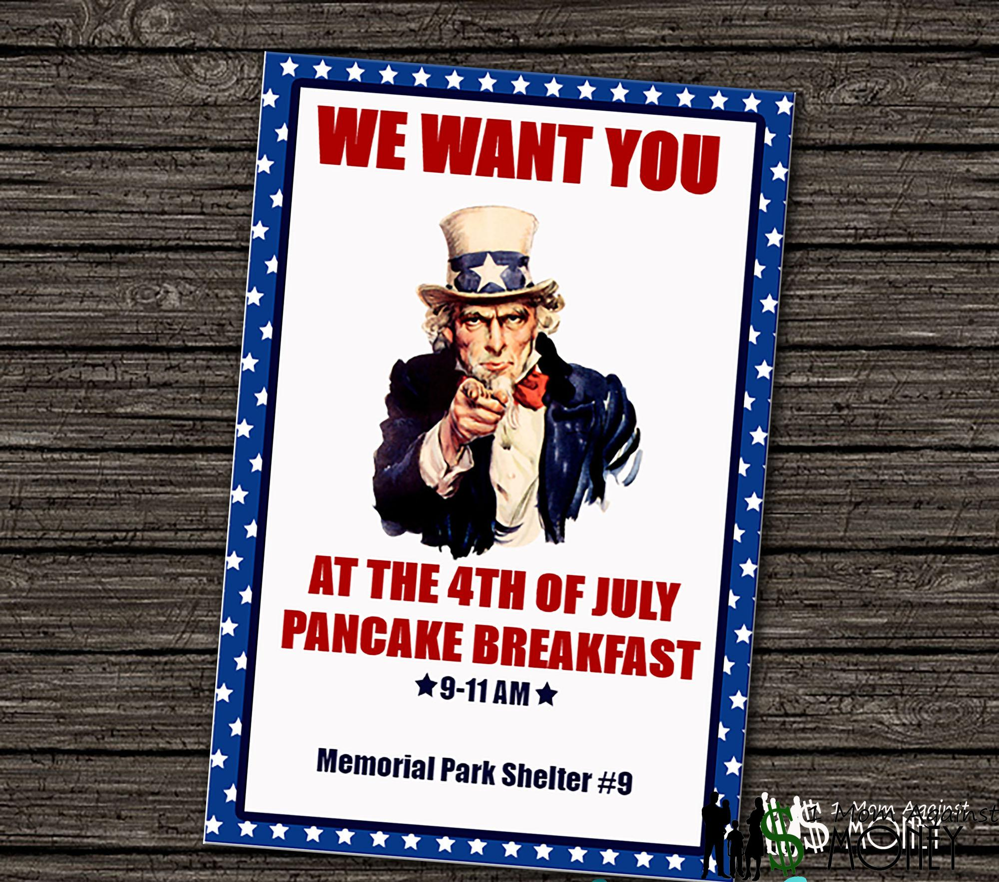Read more about the article Fourth of July Party Free Editable Invitation!