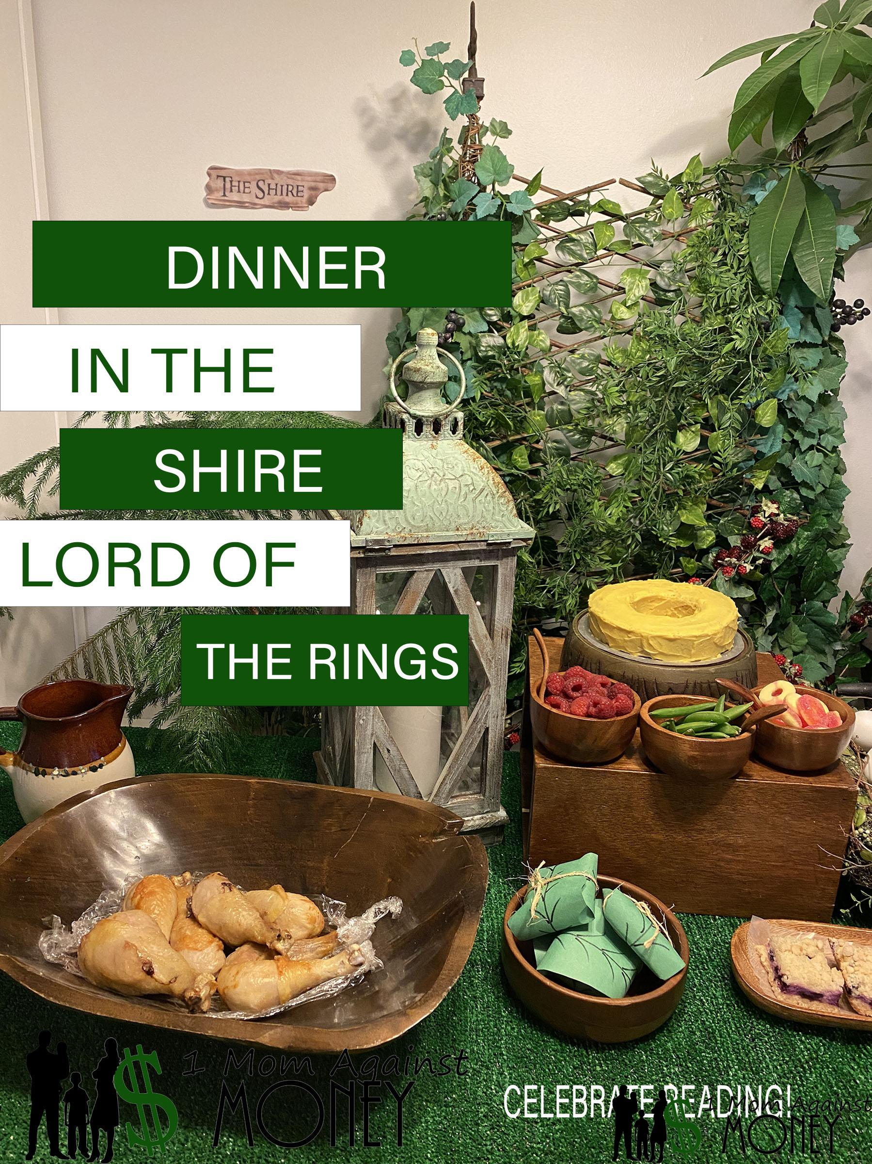 Read more about the article Lord Of The Rings Dinner in The Shire