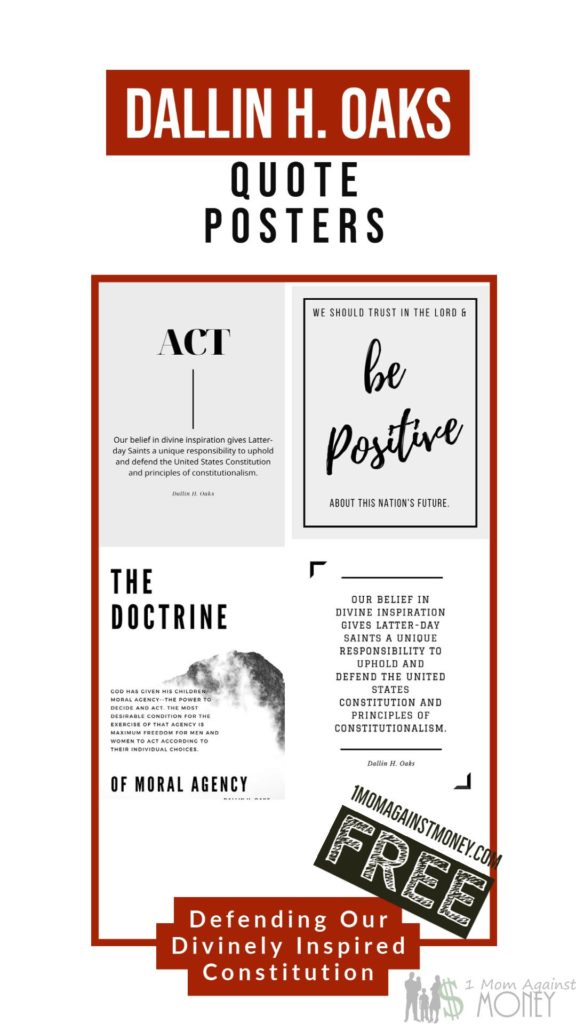 General Conference Quote Posters