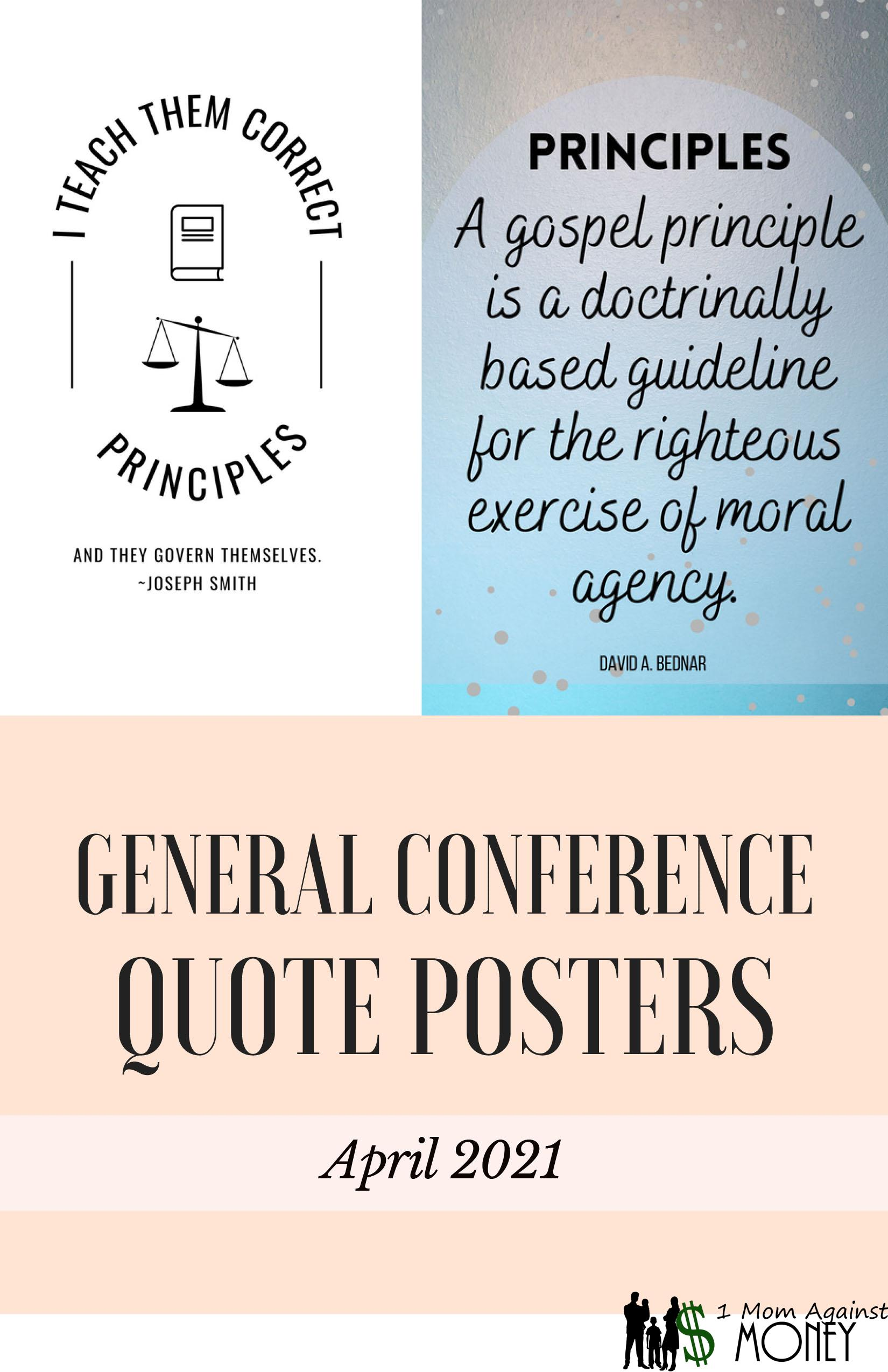 Read more about the article The Principles of My Gospel-Elder David A. Bednar