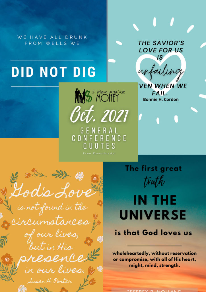 General Conference Poster Quotes October 2021