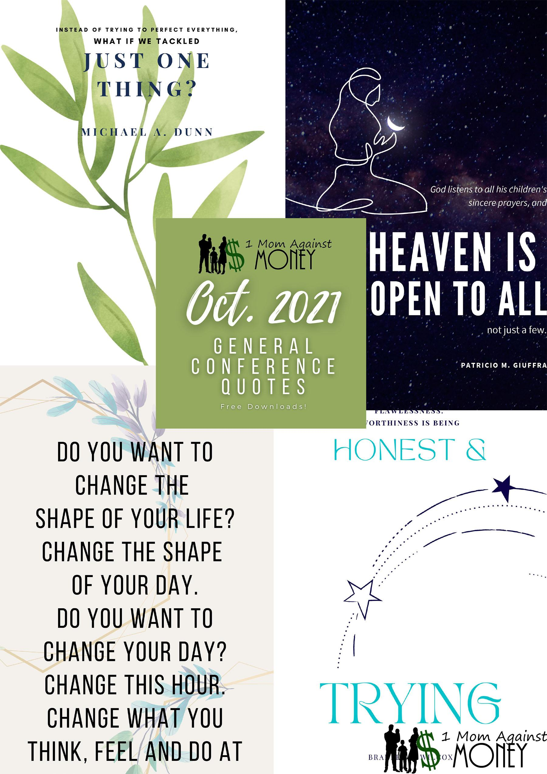 Read more about the article More General Conference 2021 Poster Quotes